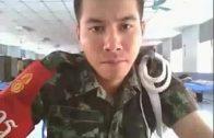 สิบเวร ชักว่าว หลุดทหารไทย สายเกย์ แอบถ่ายคลิปโชว์ชักว่าวควยจนน้ำโคตรเงี่ยนแตกคาชุดลายพราง เห็นหน้าชัดมาก twitter