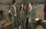 หนังโป๊ มีเซ็กส์กันจริงๆแนวตลกๆ นายทหารอเมริกา ซื้อตัวกระหรี่สาวจีนมาเย็ดหีสาวที่ค่ายทหาร เป็นงาน หีสาวเนียน เย็ดแตกใส่หน้าคาปาก กระหรี่
