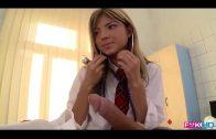หมอจ๋าหนูเงียน! นักเรียนสาวเงียนมาหาหมอ หมอไม่เอาแต่ทำไมทำกระอย่างนี้หมอจะอดใจไหวหรือเลยจัดควยใหญ่ๆกระแทกหีสาวอย่างมันส์ดูแล้งโครตเสียวจนต้องร้องขอชีวิตเลย ควยใหญ่